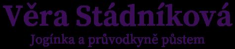 Blog - Věra Stádníková